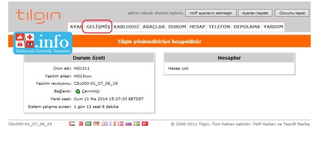 super_online_tilgin_modem_port_yonlendirme_2