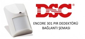 dsc-encore-301-pır-dedektör-bağlantı