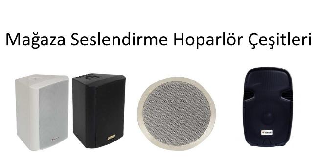 hoparlör