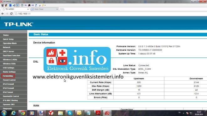 tp_link_n600_modem_port_açma