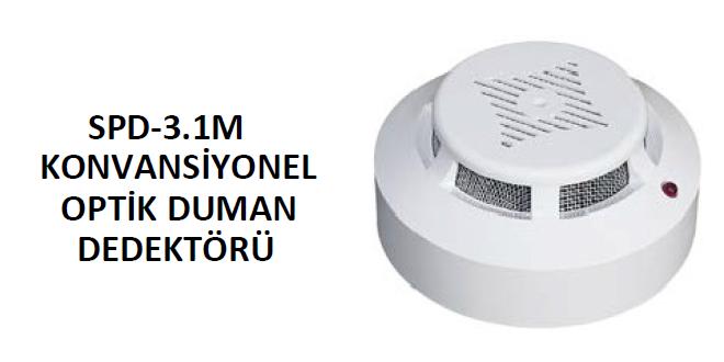 arton spd-3.1 konvansiyonel duman dedektörü
