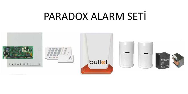 PARADOX alarm seti