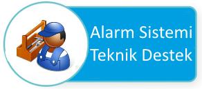alarm sistemi teknik destek