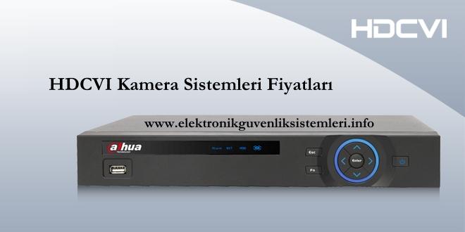 HDCVI Kamera sistemi fiyatları