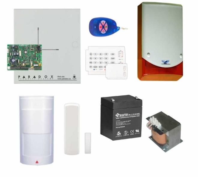 paradoks kablosuz alarm sistemi MG-5000