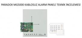 paradox MG5000 Alarm