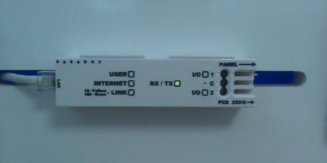 paradox ip150 internet modülü