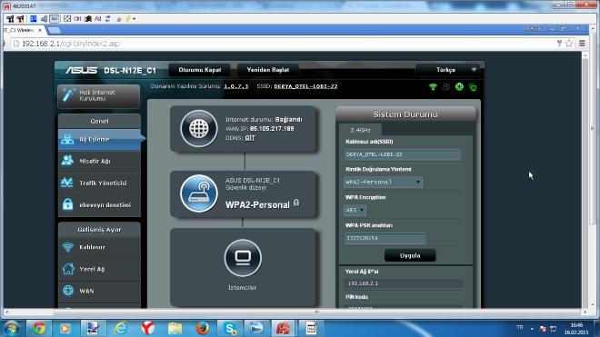 asus dsl-n12e modem ayarları