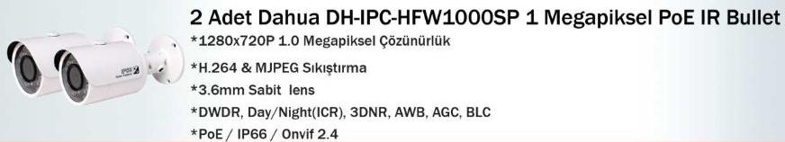 dahua dh-ıpc-hfw1000sp ip kamera