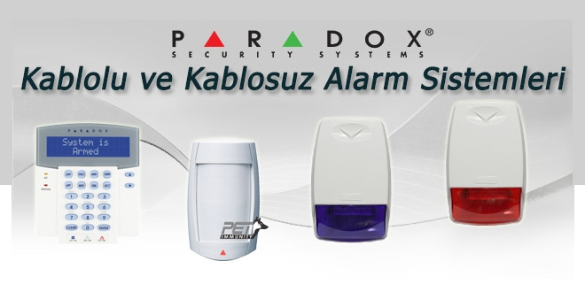 paradox alarm sistemleri