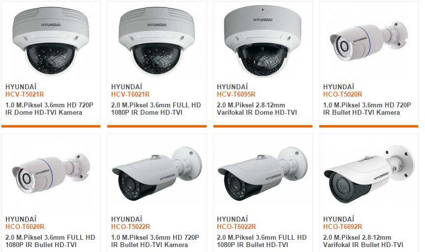 HD-TVI Kamera fiyatları