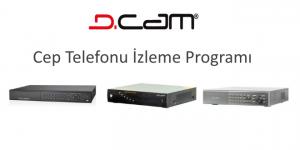 d-cam cep telefonu izleme programı