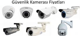 guvenlik kamerası fiyatları