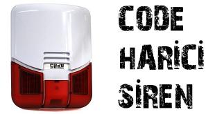 code harici siren