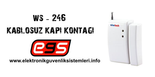 ws-246 kablosuz manyetik kontak