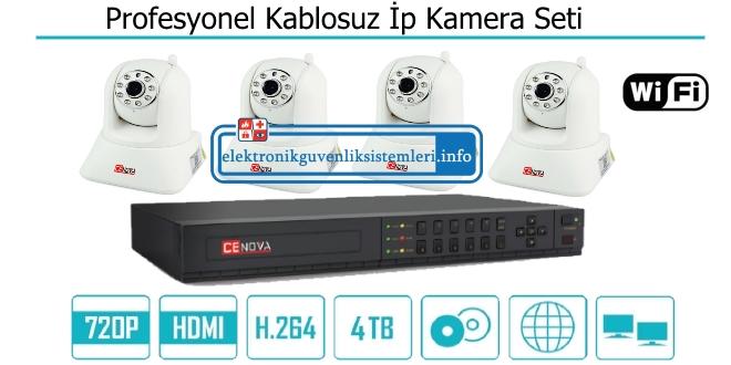 kablosuz ip kamera set