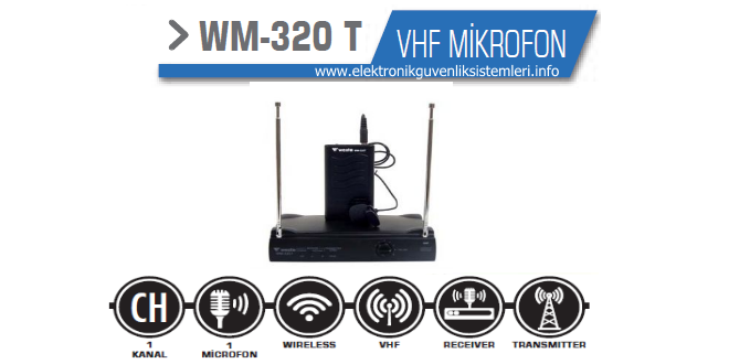 wm-320-t-kablosuz mikrofon