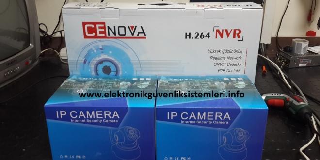 kablosuz güvenlik kamerası