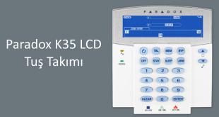 Paradox K35 LCD tuş keypad