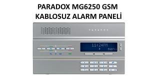 Paradox MG6250 GSM Alarm Paneli