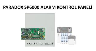 Paradox sp6000 alarm paneli