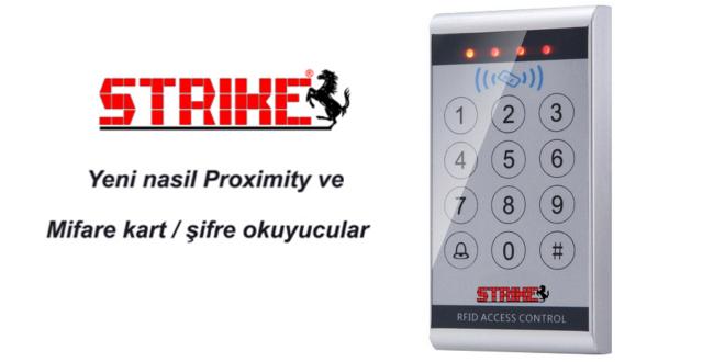 strike 10RP kartlı geçiş cihazı