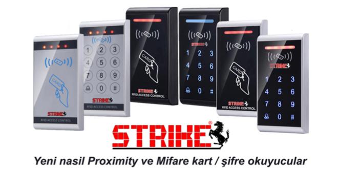 strike kartlı geçiş sistemleri