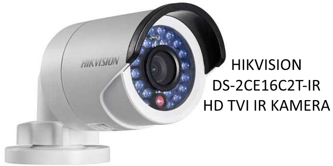 Hikvision  DS-2CE16C2T-IR kamera