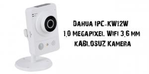 Dahua IPC-KW12W Kablosuz ip kamera