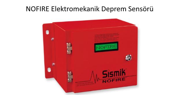 NOFIRE Deprem Sensörü